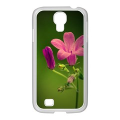 Campanula Close Up Samsung Galaxy S4 I9500/ I9505 Case (white)