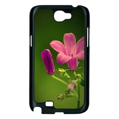 Campanula Close Up Samsung Galaxy Note 2 Case (Black)