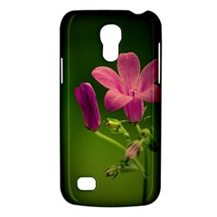 Campanula Close Up Samsung Galaxy S4 Mini Hardshell Case