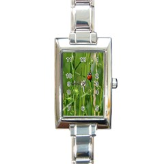 Ladybird Rectangular Italian Charm Watch