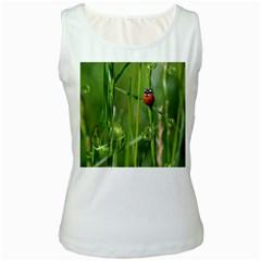 Ladybird Womens  Tank Top (White)