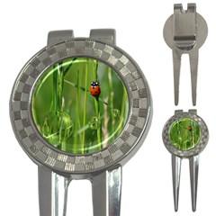 Ladybird Golf Pitchfork & Ball Marker