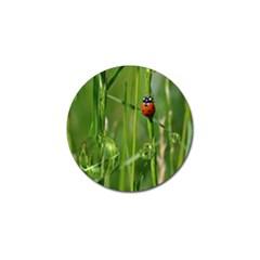 Ladybird Golf Ball Marker 10 Pack