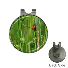 Ladybird Hat Clip with Golf Ball Marker
