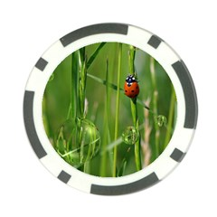 Ladybird Poker Chip (10 Pack)
