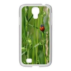 Ladybird Samsung GALAXY S4 I9500/ I9505 Case (White)