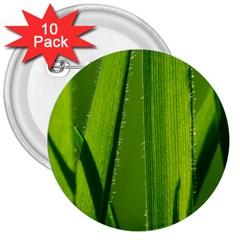 Grass 3  Button (10 pack)