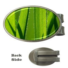 Grass Money Clip (Oval)