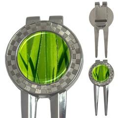 Grass Golf Pitchfork & Ball Marker