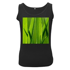 Grass Womens  Tank Top (Black)