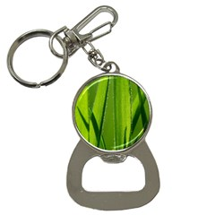 Grass Bottle Opener Key Chain