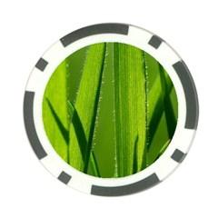 Grass Poker Chip