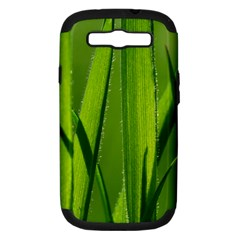 Grass Samsung Galaxy S III Hardshell Case (PC+Silicone)