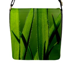 Grass Flap Closure Messenger Bag (Large)