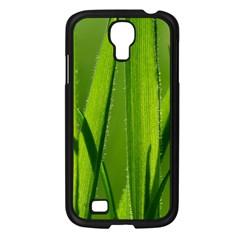 Grass Samsung Galaxy S4 I9500/ I9505 Case (Black)