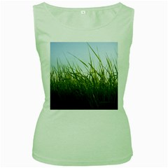 Grass Womens  Tank Top (Green)