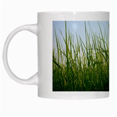 Grass White Coffee Mug