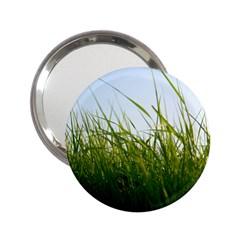 Grass Handbag Mirror (2.25 )