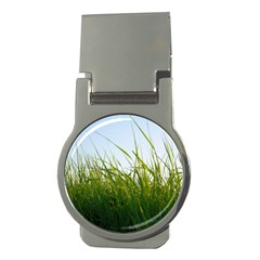 Grass Money Clip (Round)