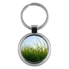 Grass Key Chain (Round)