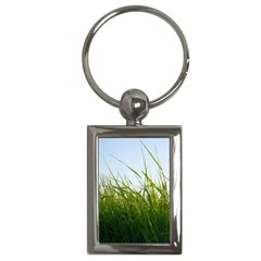 Grass Key Chain (Rectangle)