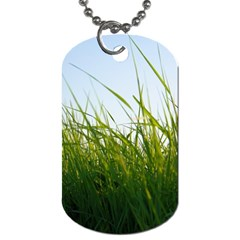 Grass Dog Tag (Two-sided)