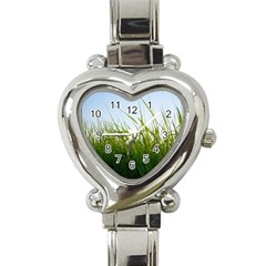 Grass Heart Italian Charm Watch