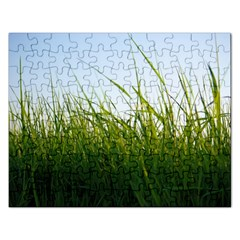 Grass Jigsaw Puzzle (Rectangle)