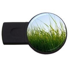 Grass 4GB USB Flash Drive (Round)