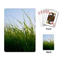 Grass Playing Cards Single Design