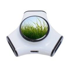 Grass 3 Port USB Hub