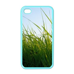 Grass Apple Iphone 4 Case (color)