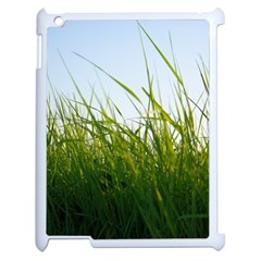 Grass Apple iPad 2 Case (White)