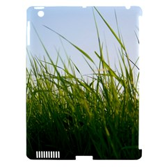 Grass Apple iPad 3/4 Hardshell Case (Compatible with Smart Cover)