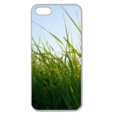 Grass Apple Seamless iPhone 5 Case (Clear)