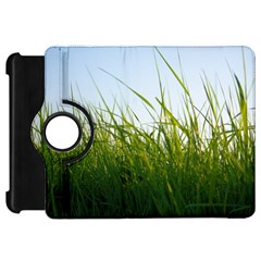 Grass Kindle Fire Hd 7  Flip 360 Case