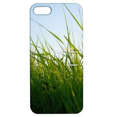 Grass Apple Iphone 5 Hardshell Case With Stand