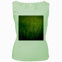 Grass Womens  Tank Top (Green)