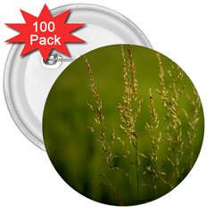 Grass 3  Button (100 pack)
