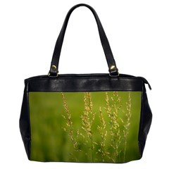 Grass Oversize Office Handbag (Two Sides)