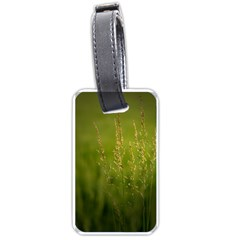 Grass Luggage Tag (one Side)
