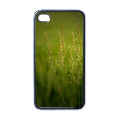 Grass Apple iPhone 4 Case (Black)