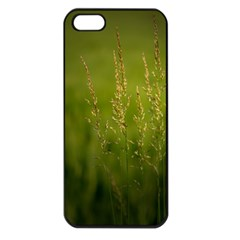 Grass Apple iPhone 5 Seamless Case (Black)