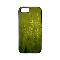 Grass Apple iPhone 5 Classic Hardshell Case (PC+Silicone)