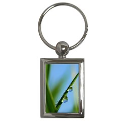 Waterdrops Key Chain (rectangle)