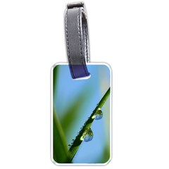 Waterdrops Luggage Tag (Two Sides)