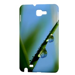 Waterdrops Samsung Galaxy Note 1 Hardshell Case