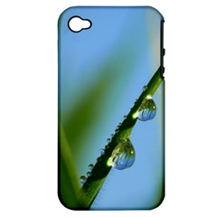 Waterdrops Apple iPhone 4/4S Hardshell Case (PC+Silicone)