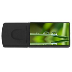 Waterdrops 2GB USB Flash Drive (Rectangle)