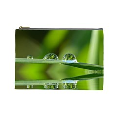 Waterdrops Cosmetic Bag (Large)